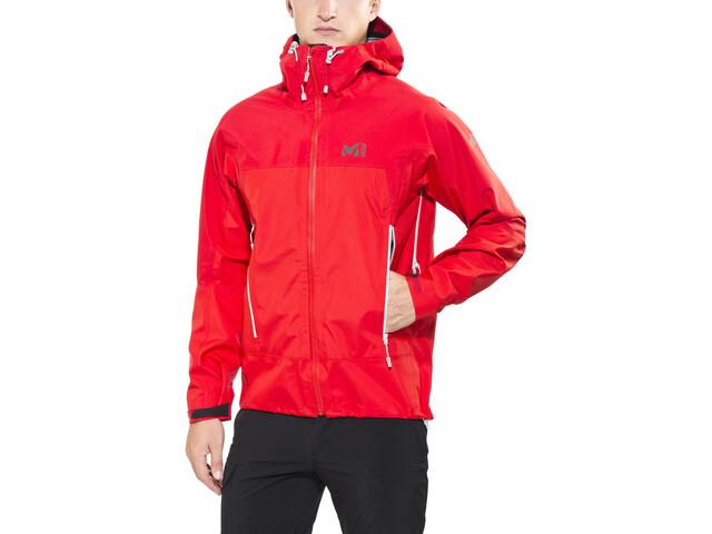Klettergurt Gelbox : Millet jungfrau gtx jacket men rouge silver campz.at